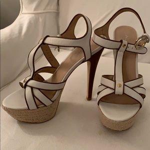 Aldo white Leather Sandals